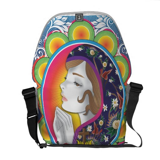 Holy Mary Courier Bags