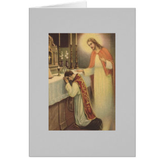 Holy Mass Card