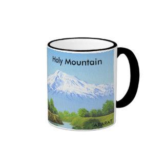 Holy Mountain ARARAT Coffee cup Ringer Mug