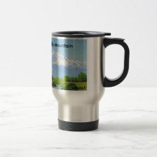 Holy Mountain ARARAT Coffee cup Stainless Steel Travel Mug