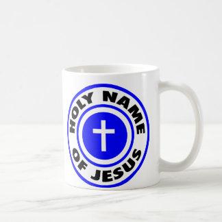 Holy Name of Jesus Basic White Mug