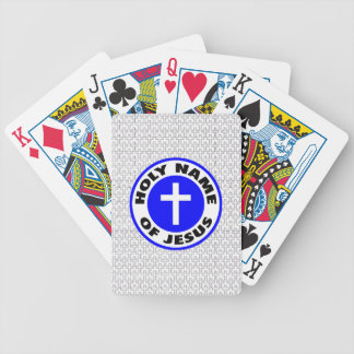 Holy Name of Jesus Bicycle Playing Cards