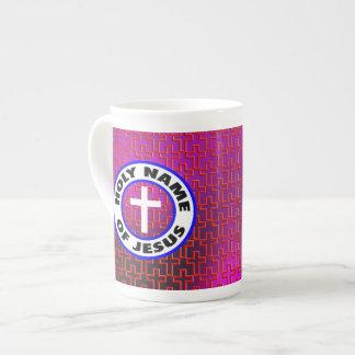 Holy Name of Jesus Bone China Mug