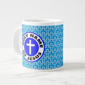 Holy Name of Jesus Jumbo Mug