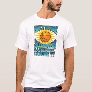 Holy Name Summer Basketball League '77 T-Shirt