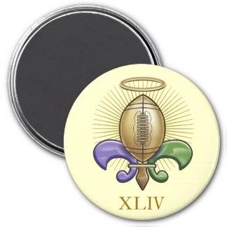 Holy NOLA Trophy (p) 7.5 Cm Round Magnet