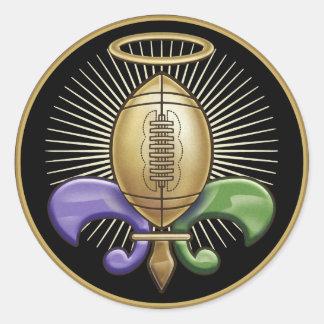Holy NOLA Trophy (p) Classic Round Sticker