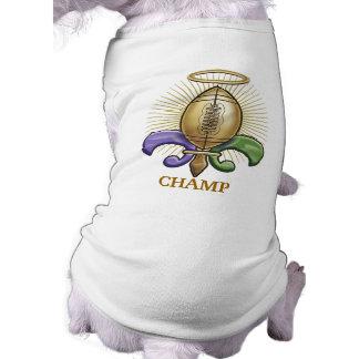 Holy NOLA Trophy (p) Sleeveless Dog Shirt