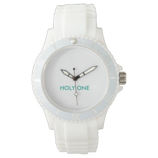 HOLY ONE Women's Sporty White Silicon Watch