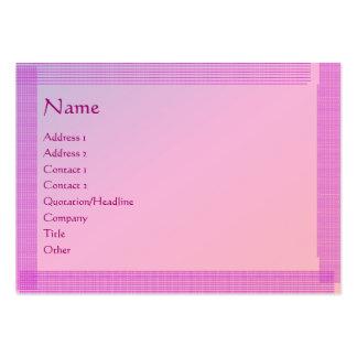 Holy Purple : Artist Created Handmade Lookj Pack Of Chubby Business Cards