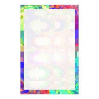 Holy Purple  CRYSTAL  Set Contrast Pattern Stationery
