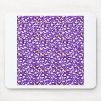 HOLY Purple Healing Energy Pattern Graphic GIFTS Mousepads