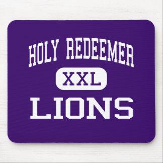 Holy Redeemer - Lions - High - Detroit Michigan Mouse Mat
