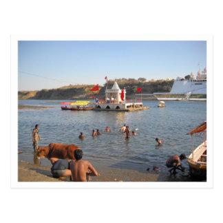 Holy River scene Postcard