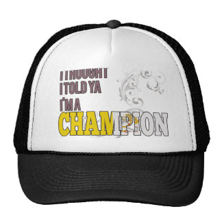 Holy See Citizen and a Champion Hats