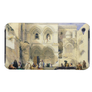 Holy Sepulchre, in Jerusalem (colour litho) iPod Touch Covers