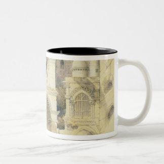 Holy Sepulchre, in Jerusalem (colour litho) Two-Tone Mug