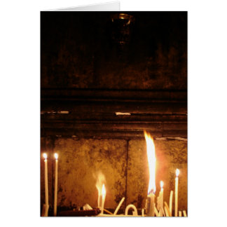 Holy Sepulchre, Jerusalem Greeting Card