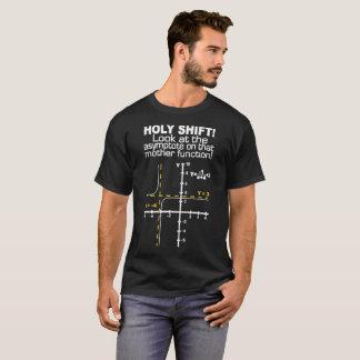 Holy Shift Asymptote Math Shirts