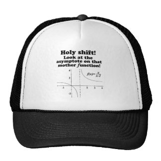 'Holy Shift! Look at the asymptote Math Apparel Hat
