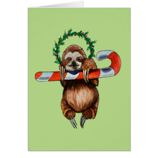 holy sloth card