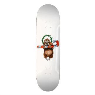 holy sloth custom skateboard