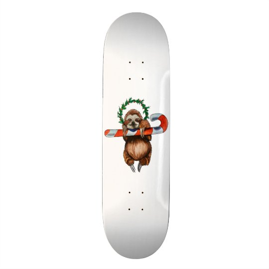 holy sloth custom skateboard