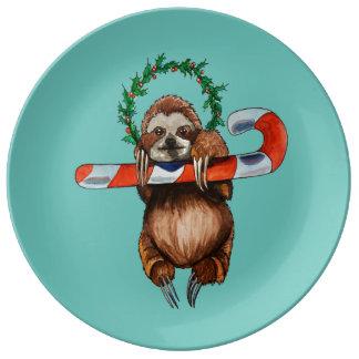 holy sloth plate