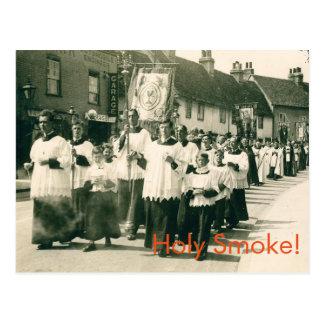 Holy Smoke! Postcard
