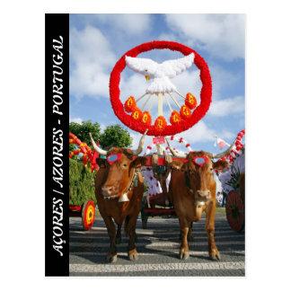 Holy Spirit - Azores Postcard