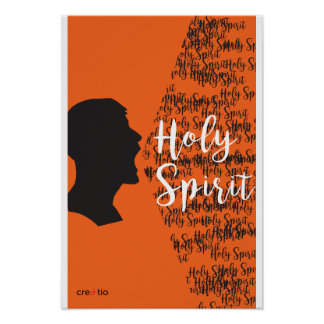 Holy Spirit By Katherine Poster
