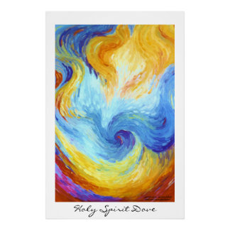Holy Spirit Dove Posters