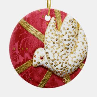 Holy Spirit doves Christmas Ornament