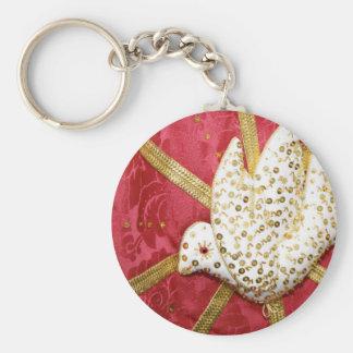 Holy Spirit doves Key Ring