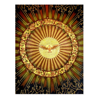 Holy Spirit painting Postcard
