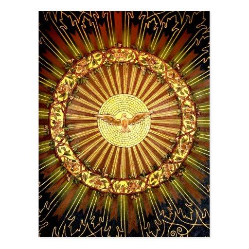 Holy Spirit painting Postcards