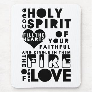 Holy Spirit Prayer Mouse Pad