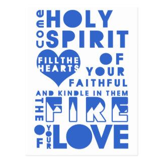Holy Spirit Prayer Postcards