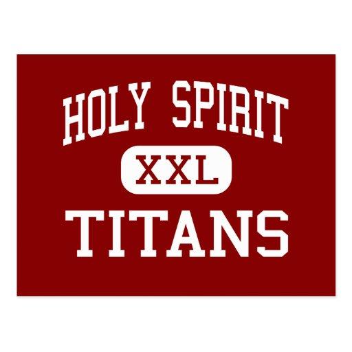 Holy Spirit - Titans - Catholic - Tuscaloosa Post Cards