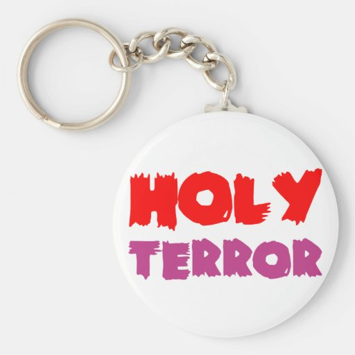 holy terror key chains