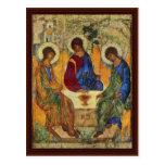 Holy Trinity By Rublã«V Andrej Postcard