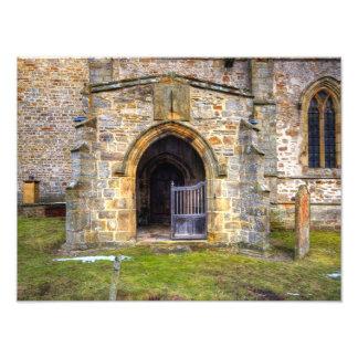 Holy Trinity Church Wensley Photographic Print