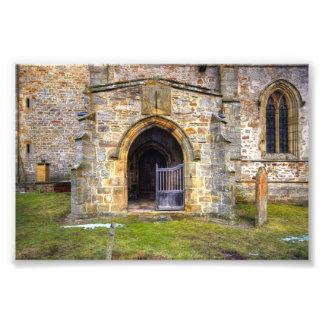 Holy Trinity Church Wensley Art Photo