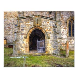 Holy Trinity Church Wensley Photo Print