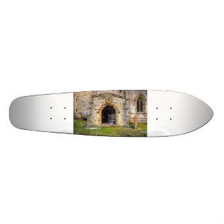 Holy Trinity Church Wensley Skateboards