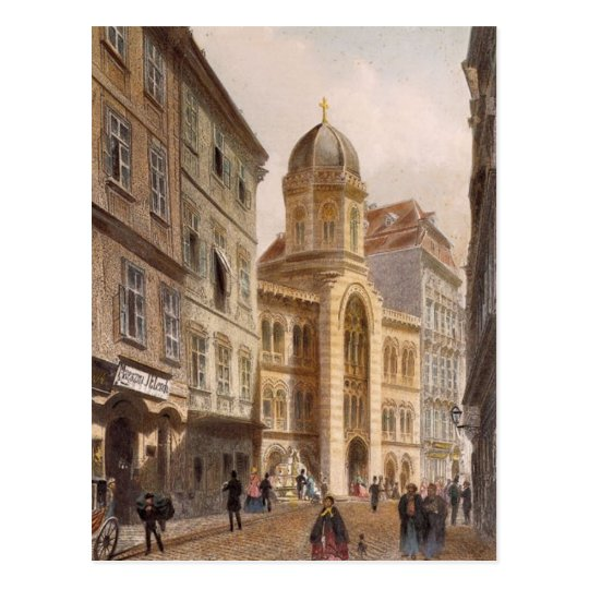 Holy Trinity Greek Church, Vienna by Rudolf Postcard