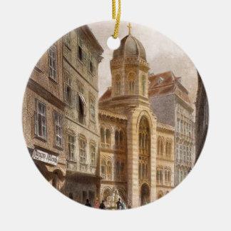 Holy Trinity Greek Church, Vienna by Rudolf Round Ceramic Decoration