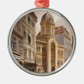 Holy Trinity Greek Church, Vienna by Rudolf Silver-Colored Round Decoration