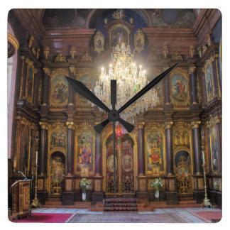 Holy Trinity Greek Orthodox Church Square Wall Clock