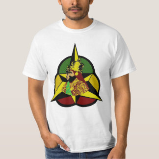 Holy Trinity Haile Selassie Rastafari by Jah Key T-Shirt